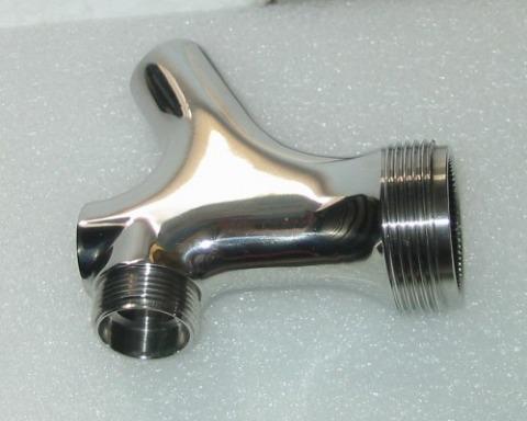 特殊配管接頭、氣體設備金屬零件(鏡面拋光)