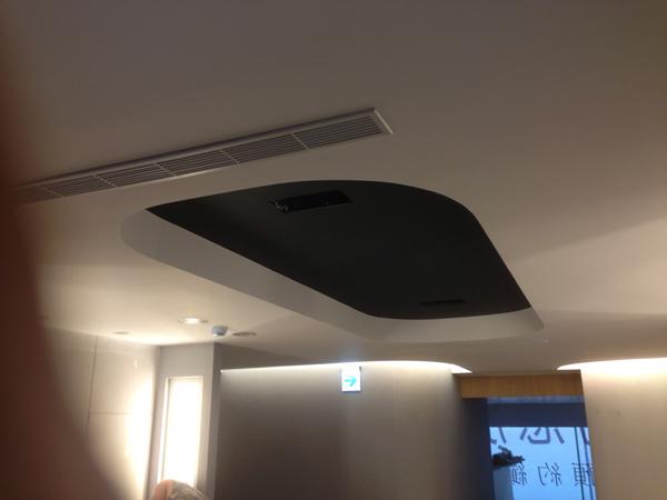 防火天花板、暗架天花板