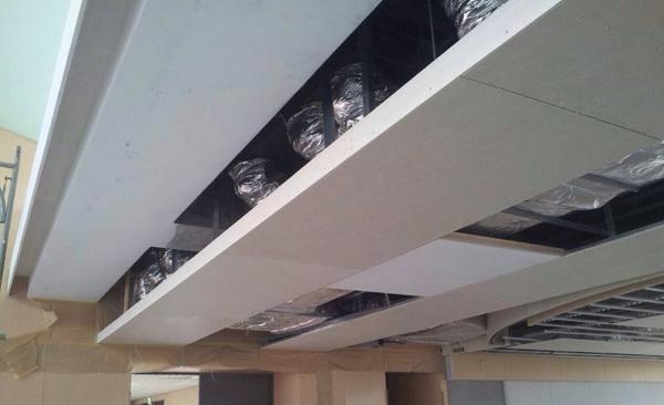 暗架天花板、天花板裝潢、造型天花板