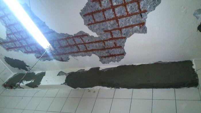 天花板鋼筋補強工程