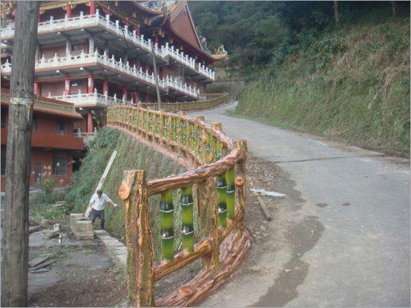 水泥仿竹欄杆