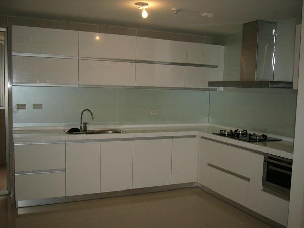 三重L字型歐化廚具 系統櫥櫃 廚房設備