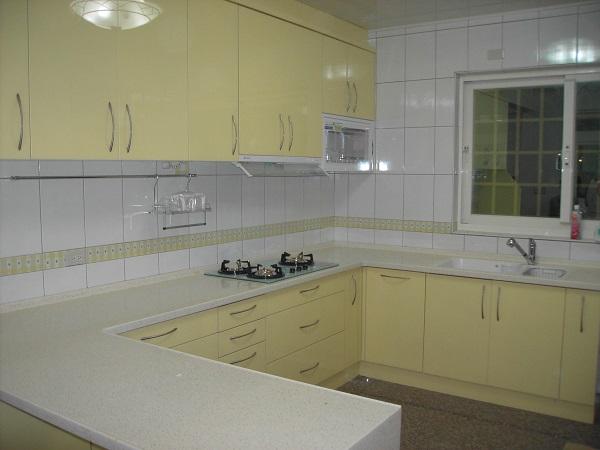 蘆洲ㄇ字型歐化廚具 系統櫥櫃 廚房設備