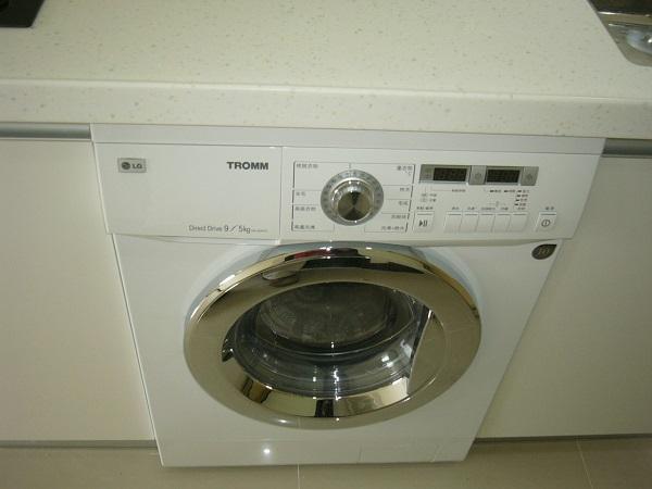 廚房設備 LG廚下型洗衣機