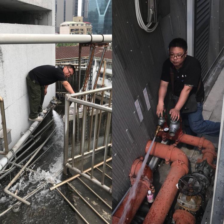 消防測試出水口檢測