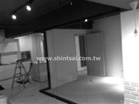 玻璃隔間02-2967-9869、辦公室隔間、鋁框玻璃 鋁框隔間 懸吊拉門