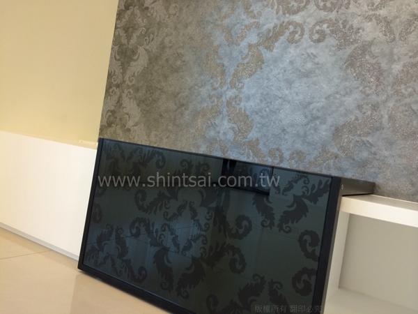 客製化圖騰加工02-2967-9869、噴砂玻璃、圖案玻璃