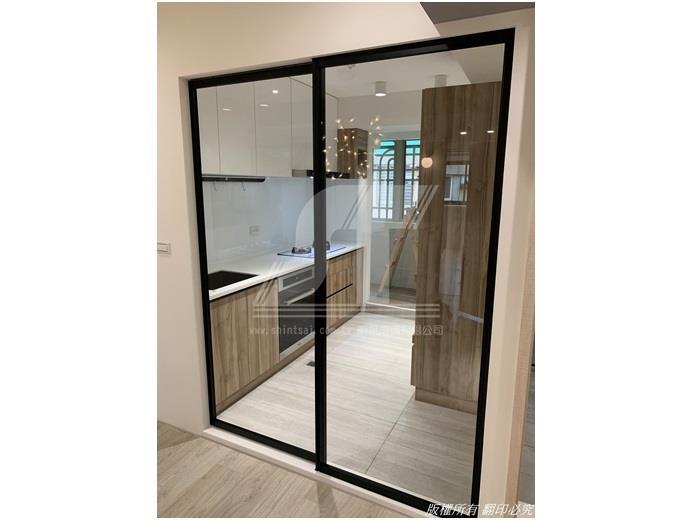 廚房調色烤漆設計02-2967-9869、裝潢烤漆玻璃