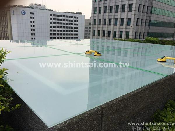 雨披 5+5膠合白膜玻璃02-2967-9869、戶外玻璃