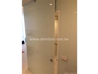 鋁合金隔間、玻璃隔間02-2967-9869、烤漆膠合玻璃、拉門玻璃