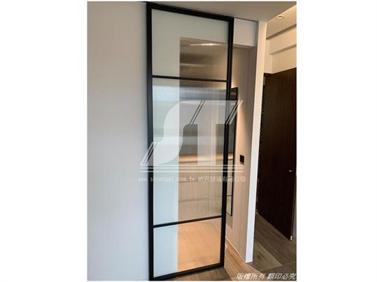 鋁框玻璃門 鋁框隔間 鋁框拉門0229679869