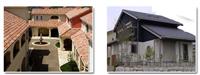平板瓦、西班牙瓦、文化瓦、琉璃瓦、尺仔磚