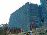 竹科旺宏1-英城-外牆鷹架、鷹架搭建