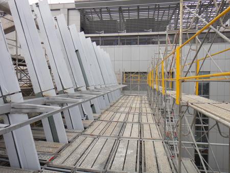 板橋台電大樓1-新亞-施工架、框式施工架