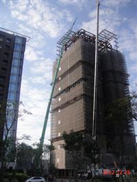 新莊兆之丘1-中麟-外牆鷹架工程