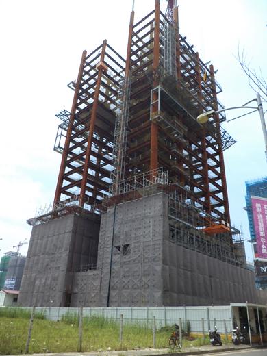 新莊兆之丘-中麟-外牆鷹架工程
