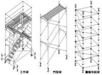 工作架、門型架、圓盤系統架