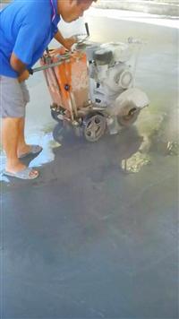 地坪伸縮縫切割工程