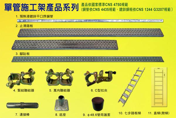 單管施工架產品