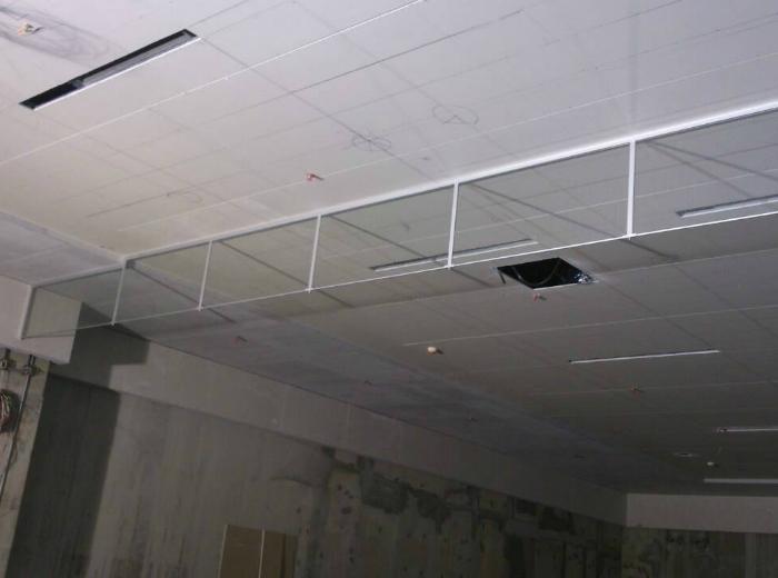 大樓固定式防煙垂壁