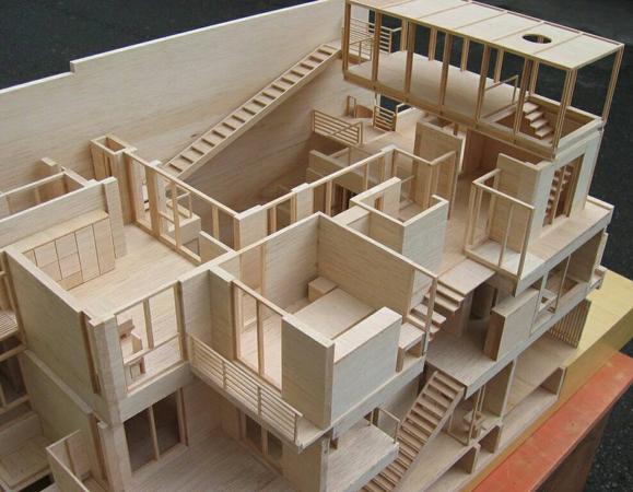 木製住宅模型