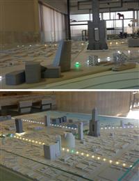 公共建築模型、商業模型、廠房模型
