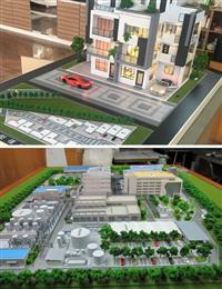 住宅模型透天模型、剖面建築模型