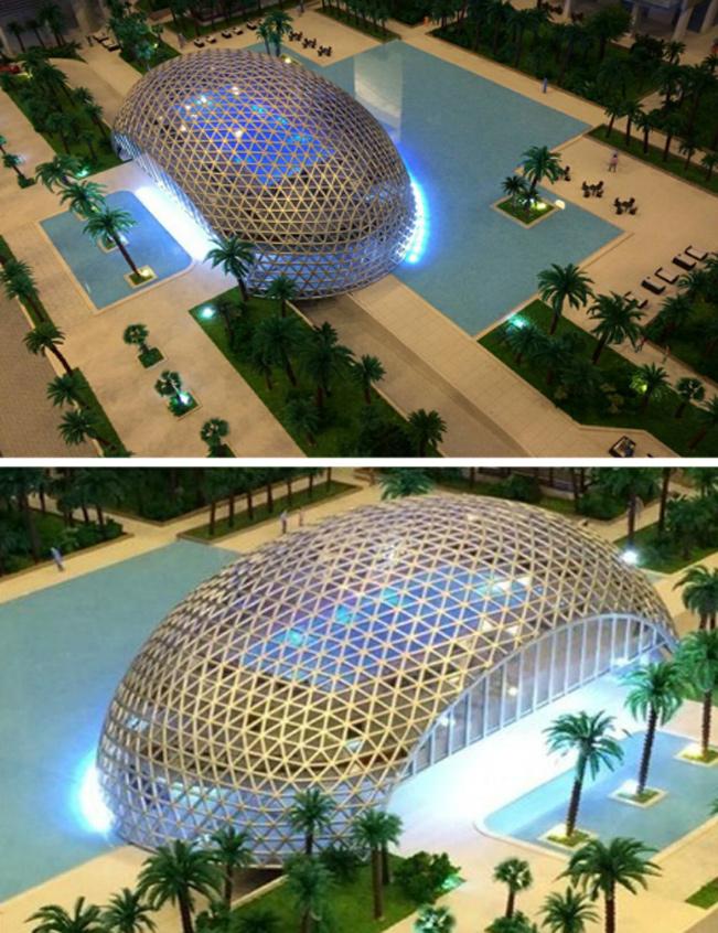 公共工程模型、外觀模型、建築模型