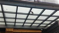 H型鋁鋼構採光罩維修