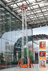 可移動高空作業平台、電動鋁架高空作業平台