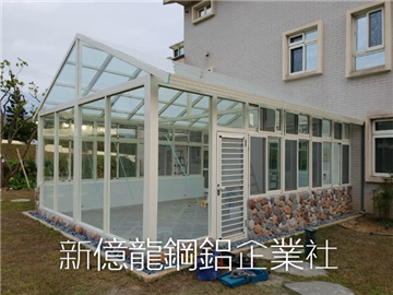 別墅溫室玻璃屋工程