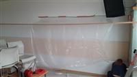 牆壁全罩式防護施作