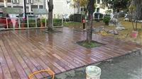 木紋磚貼合工程--台南民德國中