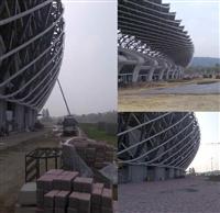 高壓磚施工--高雄世運主場