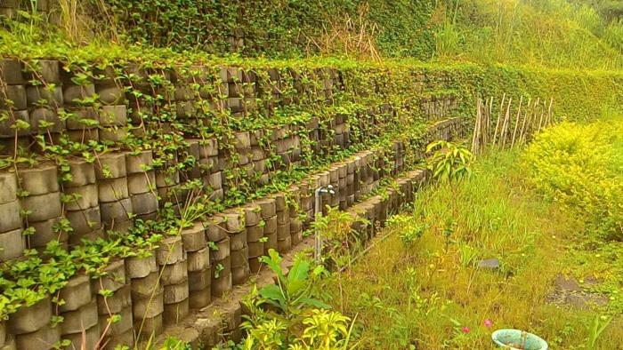 擋土牆景觀美化工程