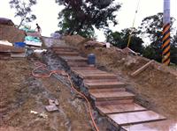 石材樓梯貼合工程