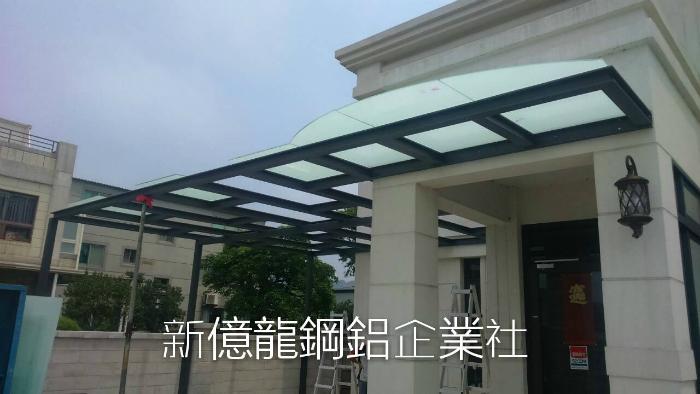 別墅玻璃採光罩工程
