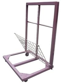 黑鐵活動乾燥架(外架紫紅色噴漆)