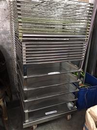 鎂佳不銹鋼乾燥架/黑鐵