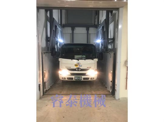 油壓雙缸昇降機汽車梯-36