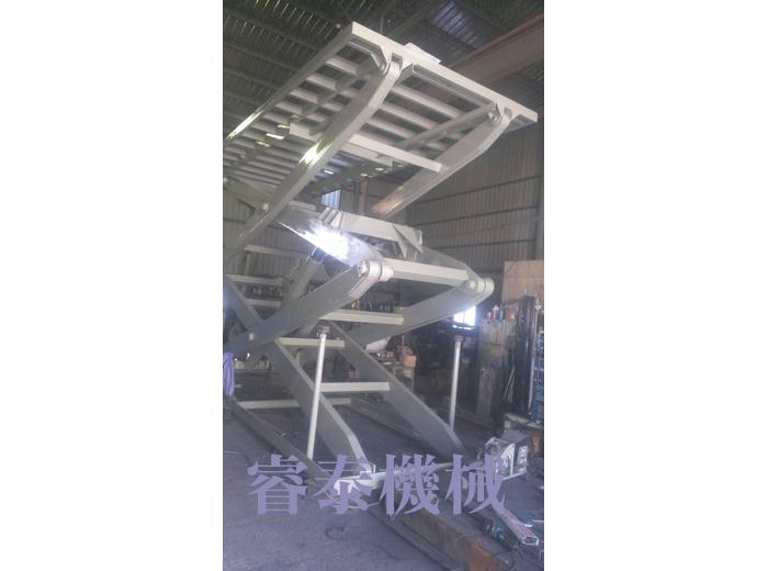 剪刀式汽車梯-17