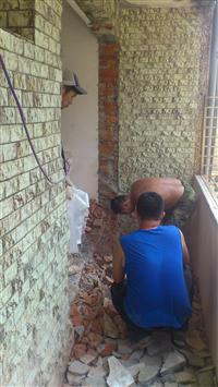 磚牆隔間拆除