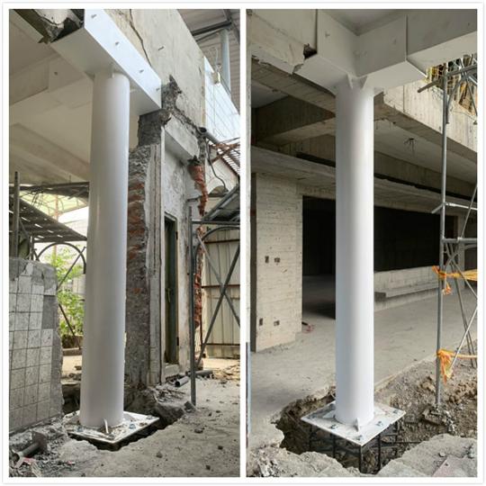 結構鋼柱補強