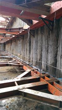 切削止水樁開挖實績