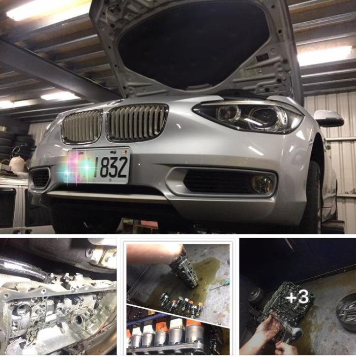 BMW寶馬 F20 120d 8AT       型號:8HP45