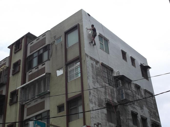 外牆防水施作-面漆完成圖