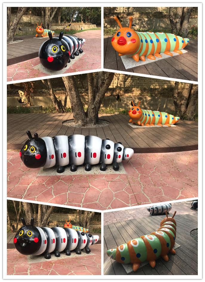 FRP昆蟲造型藝術雕塑