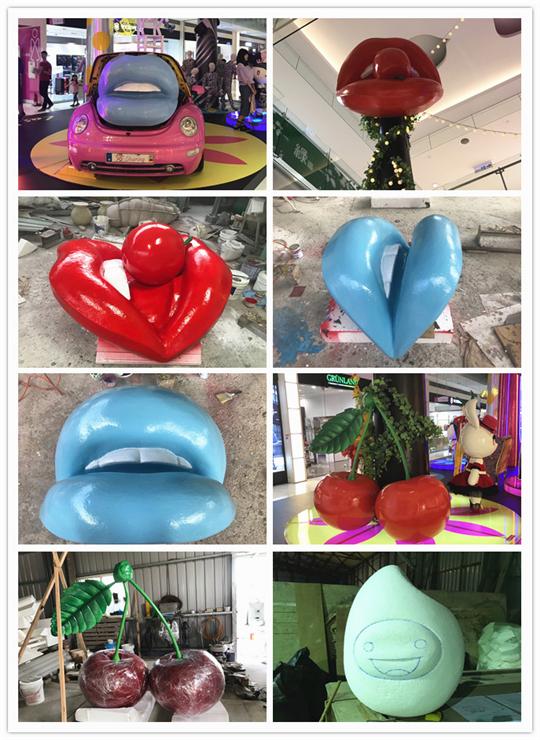 FRP動物藝術雕塑