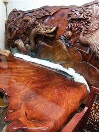 收購二手紅木傢俱、紅木桌收購、紅木傢俱
