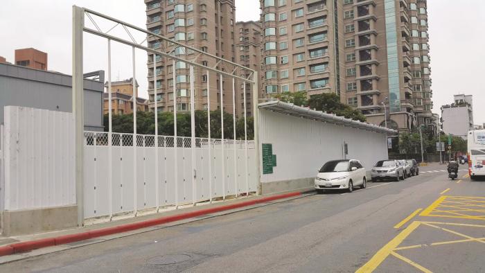 折疊式工地大門